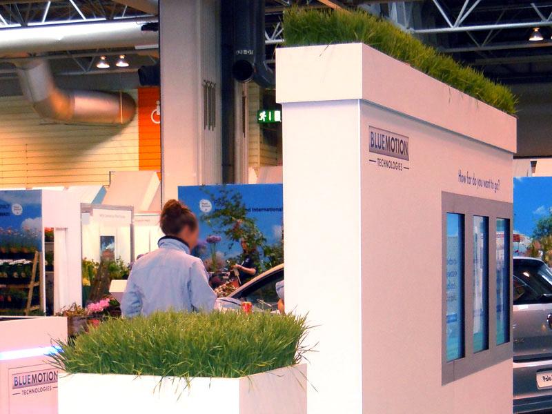 Grasses to Clients custom built troughs