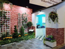 Bespoke Garden Display created for client Ford & Barley