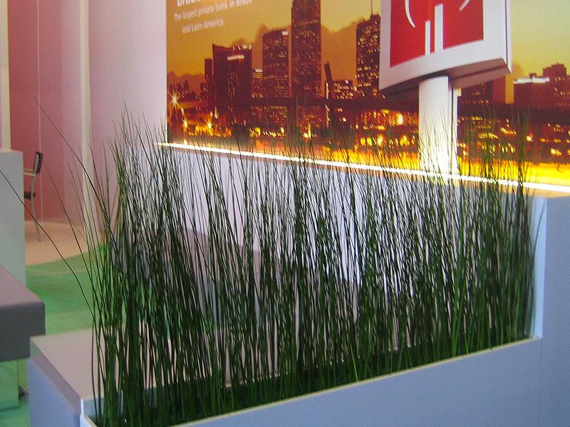 Trough of fine Grasses