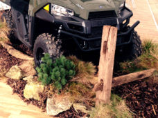 Rough Terrain Display around Vehicle