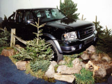 Rough Terrain / Woodland around Truck