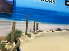 Beach blended into wall Graphics